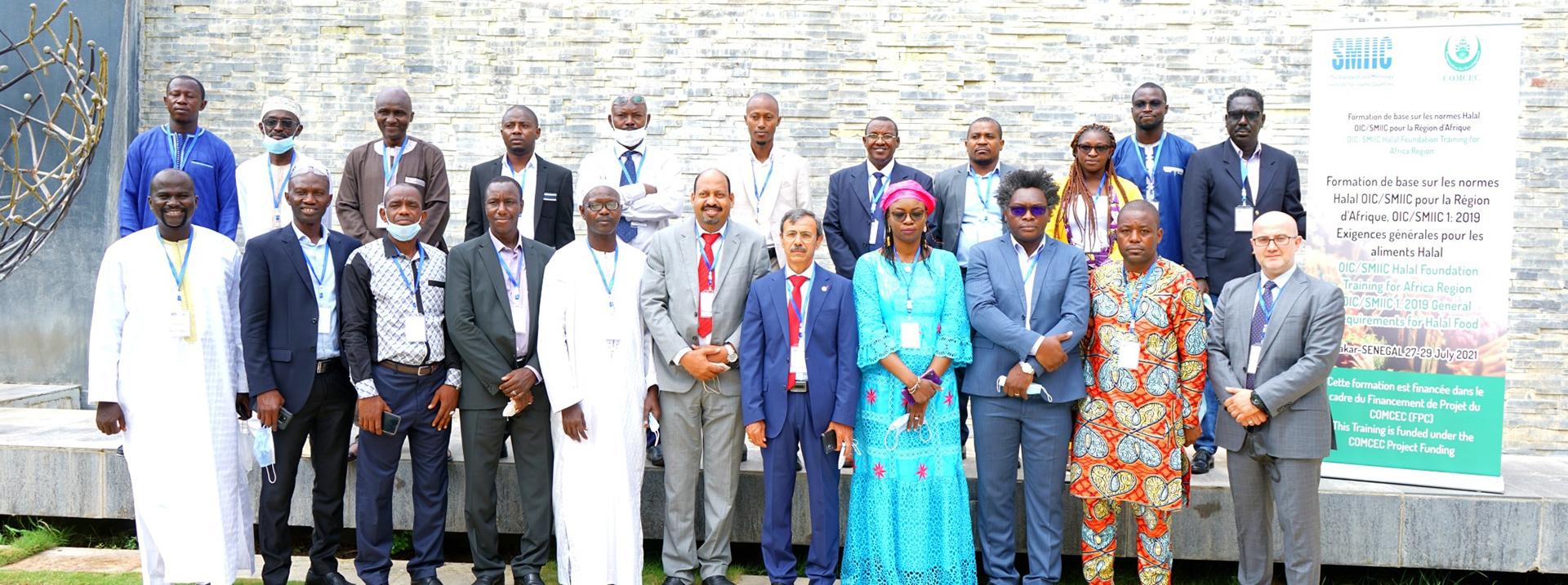 """Afrika Bölgesi için """"OIC/SMIIC 1 Helal Gıda için Genel Kurallar Eğitimi"""" Projesi"""