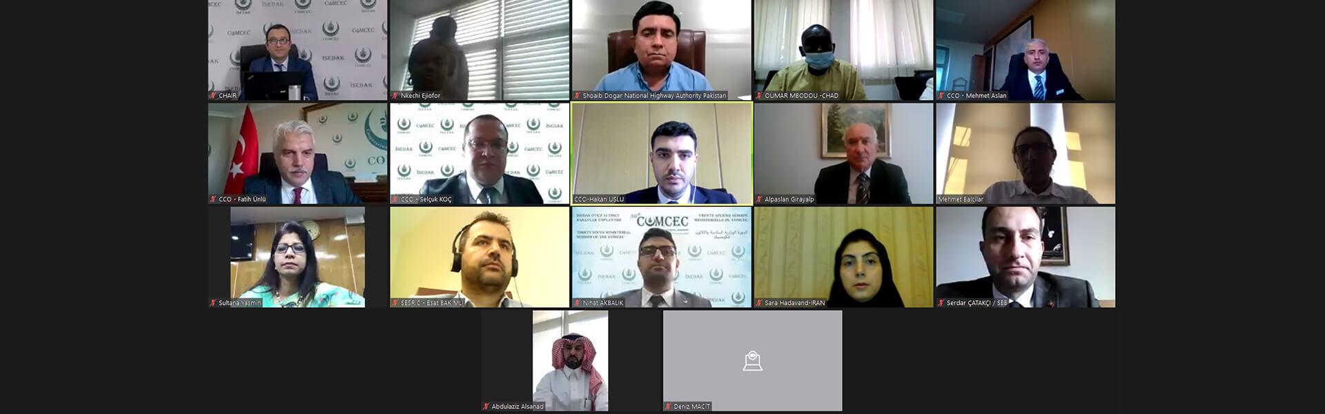 İSEDAK Ulaştırma ve İletişim Çalışma Grubu 17. Toplantısı gerçekleştirilmiştir